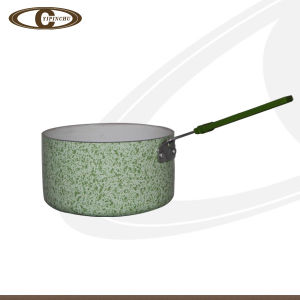 Popular Emerald Green Ceramic Sauce Pan