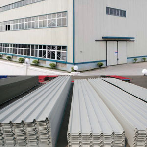 Heat Insulation 3 Layer UPVC Roofing Sheet pictures & photos