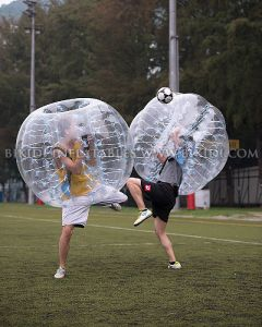 High Quality 1.0mm PVC Bubble Soccer for Football Games pictures & photos