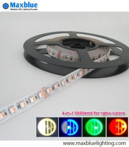 DC24V 60/72/84/96LEDs Per Meter 4-in-1 5050SMD RGBW LED Strip pictures & photos
