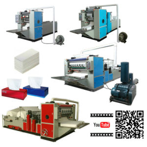 Automatic Folding Facial Tissue Paper Making Machine with Good Price pictures & photos