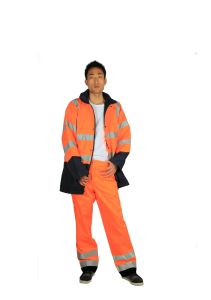Hi-Vis Waterproof Jacket Quilted Jackets pictures & photos