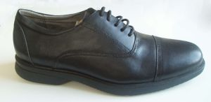 Men′s Leather Comfort Shoes