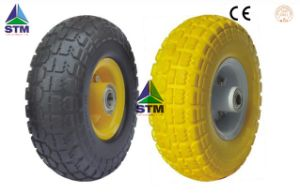 High Quality PU Foam Wheel 3.50-4 pictures & photos