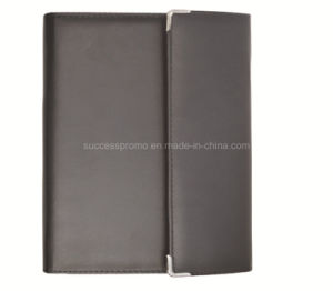 Custom A4 PU Leather Zipper Style Agenda File Folder pictures & photos