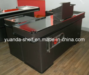 Supermarket Convenience Store Cashier Checkout Counter for Sale pictures & photos