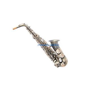 Pango Music Black Nickel Alto Saxophone (PAS-012) pictures & photos