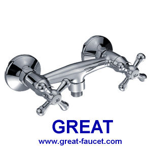 Wall-Mounted Kitchen Mixer and Shower Faucet pictures & photos