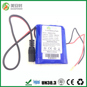 3 Cells 11.1V 2600mAh Li-ion Battery