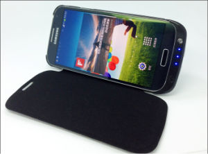 New External Leather Battery Case for Galaxy S4 pictures & photos