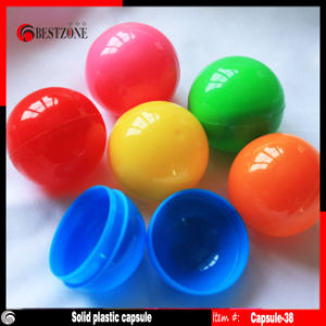 Multi Solid Colors 38mm Plastic Empty Capsule Balls pictures & photos