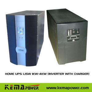Lisw1000W-4000 Home UPS Inverter with Charger pictures & photos