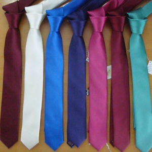 100%Polyester Satin Textured Matt Fabric for Tie (Tb5075)