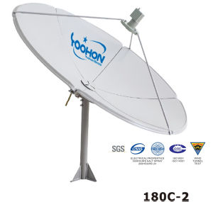 180cm Satellite Dish Antenna with 200 UV Test pictures & photos