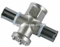 Screw Fittings in Brass for Multilayer Pipes (M-2) Tee 2 pictures & photos