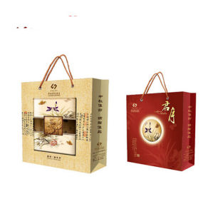 Full Color Paper Gift Bag Printing Service (jhy-581) pictures & photos