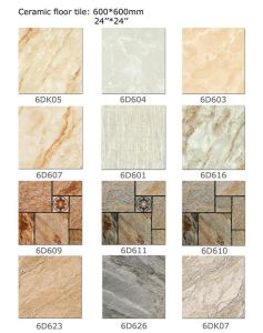 Antique Look Porcelain Floor Tiles/Rustic Ceramic Tile pictures & photos