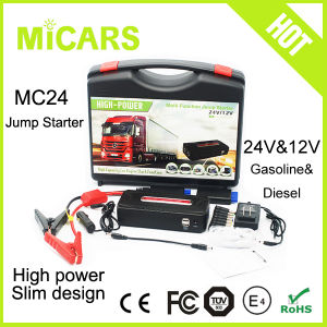 Multi-Function Portable Pack Booster 12V Auto Car Jump Starter Power Inverter