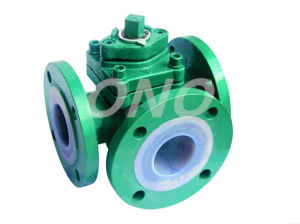 Cast Iron or Stainless Steel 3 Way Plug Valve pictures & photos