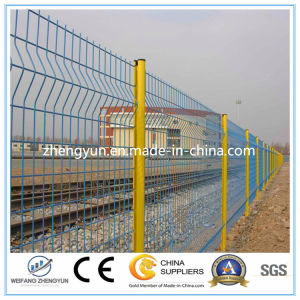 Hot-DIP Galvanized and PVC Coated Welded Wire Mesh Panel Fence pictures & photos