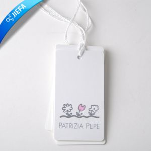 Cheap Priced Hang Paper Tag Printing for Clothing Hang Tag pictures & photos