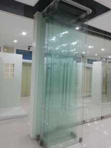 Movable Frameless Glass Wall for Office, Shopping Mall and Hotel pictures & photos