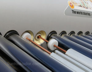 Compact Pressure System Rooftop Solar Water Heaters (STH-200L) pictures & photos