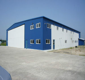 China Manufacturing Low Price Steel Structural Structure Metal Construction Building Warehouse pictures & photos