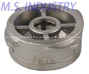 Pn40 Stainless Steel Wafer Check Valve