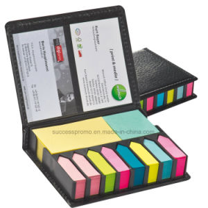 Promotional Practical Sticky Notes Set with Name Card Holder pictures & photos
