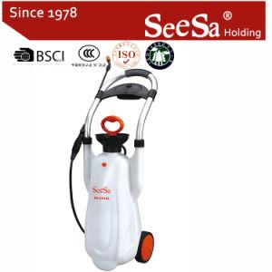 Shixia Seesa Plastic Wholesale 12L 16L Garden Tool Agricultural Hand Pressure Compression Handcart Pump Sprayer (SX-CS12L, SX-CS16L) pictures & photos