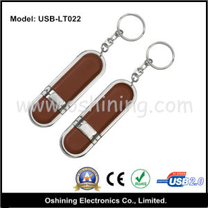 Hot Sell Leather USB 1~ 32GB (USB-LT022) pictures & photos