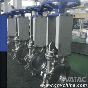 Rising Stem Pn10 Lug Type Knife Gate Valve pictures & photos