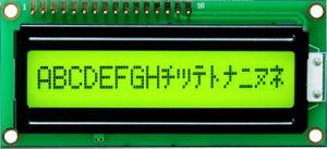 LCD Display 16X1 (TC1601A-01T)