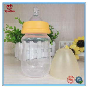 180ml Natural Newborn Baby Bottle in Wide Neck pictures & photos