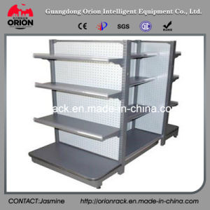 Steel Double Sided Supermarket Shelves pictures & photos