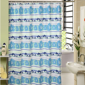 EVA Printed Custom Shower Curtain pictures & photos