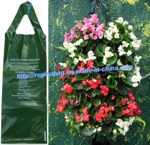 Green Flower Planter Bag (YC-5103)