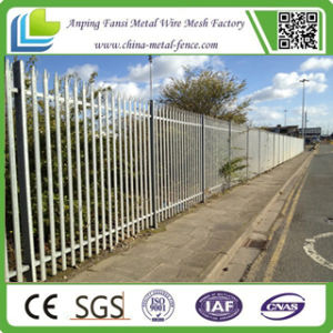 W Section Galvanized Palisade Fencing with CE Certificate pictures & photos