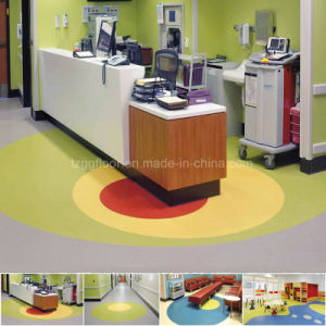 China Best Brands Suppliers Commercial Fireproof Vinyl Flooring pictures & photos