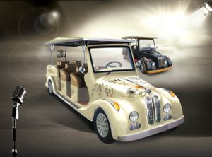 8 Seaters Electric Vintage Car pictures & photos