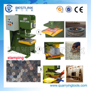 Hydraulic Stone Stamping Cutting Splitting Machine for Various Stones pictures & photos