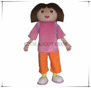 Quality Dora The Explorer Cartoon Character Mascot Costume