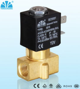 Driecting Acting Normally Closed Two Way Solenoid Valve