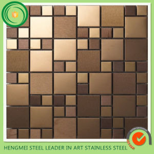 Style Selections Metal Stainless Steel Aluminum Mosaic Tile pictures & photos