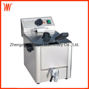 8L Commercial Single Tank Fried Chicken Electric Fryer pictures & photos