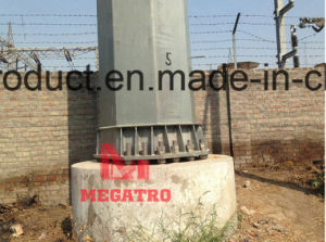 132kv DC Steel Tubular Poles (heave angle) pictures & photos