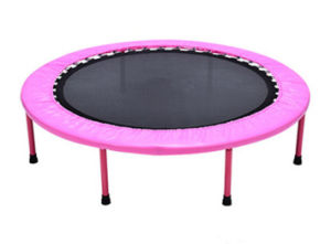 Fitness Equipment Pink Round Trampoline Yoga Trampoline Trampoline Bed pictures & photos