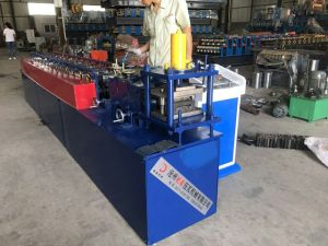 Automatic Steel Shutter Door Roll Forming Machine with PLC pictures & photos