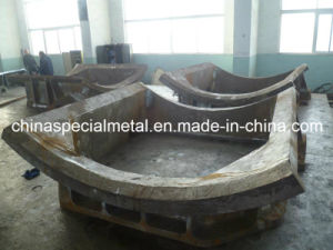 Crusher Base Door Frame, OEM Large Castings pictures & photos